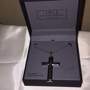 Men's chain with cross